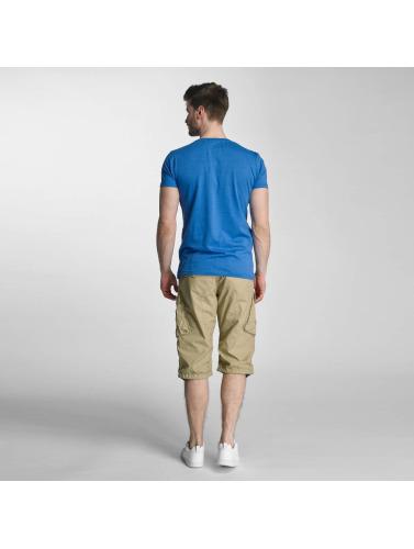 Lindbergh Hombres Camiseta No Plane in azul