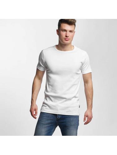 Lindbergh Hombres Camiseta Basic in blanco