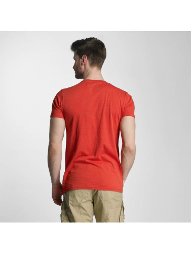 Lindbergh Hombres Camiseta No Plane in rojo