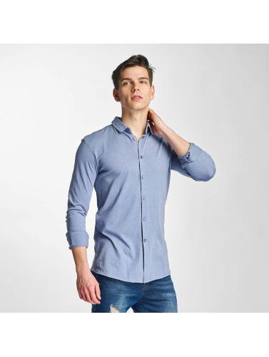 Lindbergh Herren Hemd Jersey in blau