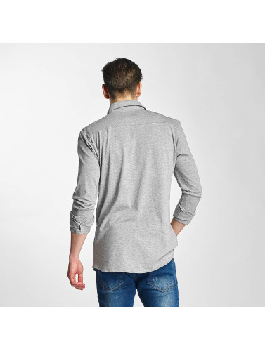 Zahlen Mit Paypal Günstig Online Große Auswahl An Zum Verkauf Lindbergh Herren Hemd Jersey in grau Günstiger Preis Großhandel z5jBWhO1VM