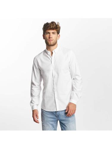 Lindbergh Herren Hemd White Oxford in weiß