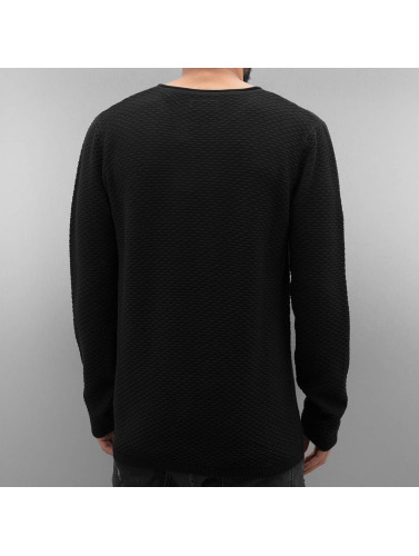 Neck Pattern Hombres in Special negro Lindbergh Jersey O FwTg4Sqw
