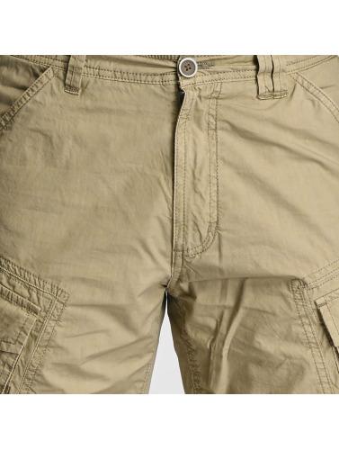 Lindbergh Herren Shorts Detailed Washed in beige