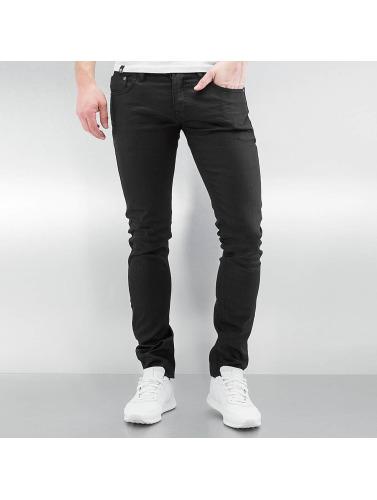 Lindbergh Herren Skinny Jeans Stretch Slim Fit in schwarz