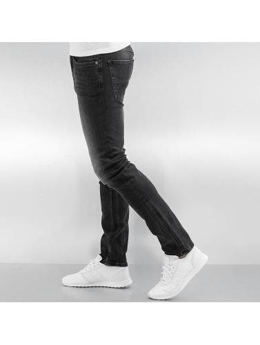 Lindbergh Herren Straight Fit Jeans Watford in grau
