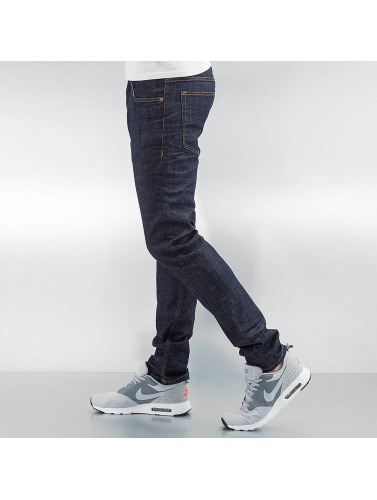 Lindbergh Herren Straight Fit Jeans Tapered Stretch Fit in indigo