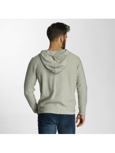 Lindbergh Hombres Sudadera Knit in gris
