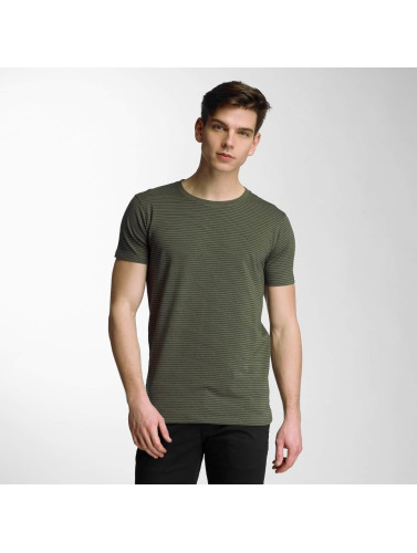 Lindbergh Herren T-Shirt Stretch in olive