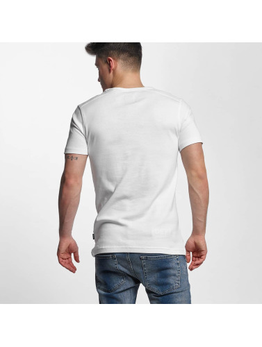 Lindbergh Herren T-Shirt Basic in weiß