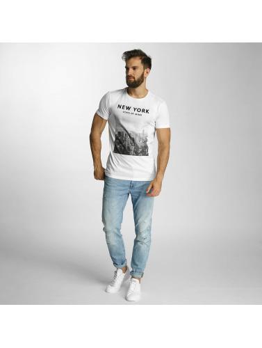 Lindbergh Herren T-Shirt O-Neck in weiß