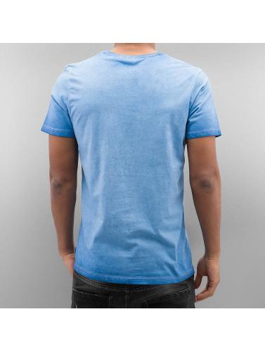 stor overraskelse online salg online Lonsdale London Menn I Blå Skjorte Peebles footaction klaring bestselger eksklusiv WD9rFFR