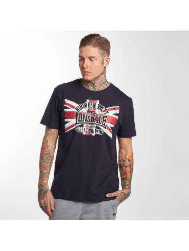 Lonsdale London Hombres Camiseta Portencross 2-Pack in blanco
