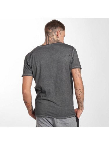 Lonsdale London Hombres Camiseta Winsford in gris