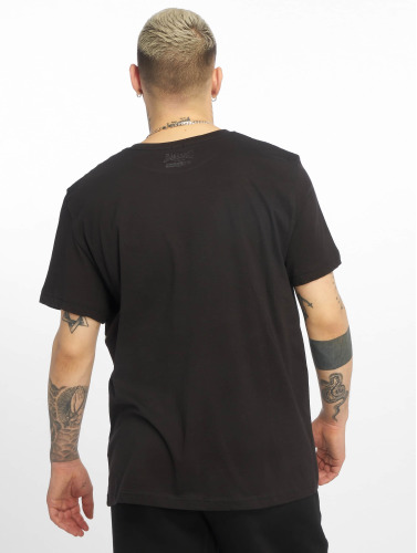 Lonsdale London Hombres Camiseta Langsett in negro