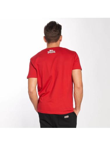 Lonsdale London Hombres Camiseta Øst Haddon I Rojo gratis frakt profesjonell utløp utrolig pris SvZHhrRlD