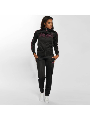 Lonsdale London Mujeres Chándal Ipswich in negro