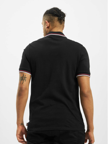Lonsdale London Herren Poloshirt Lion Polo in schwarz