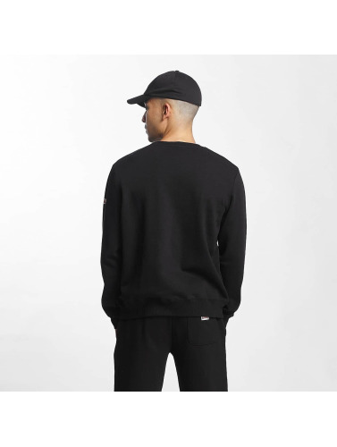 Lonsdale London Herren Pullover Helston Slim Fit in schwarz