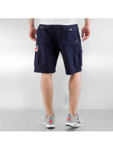 Lonsdale London Herren Shorts Silloth in blau