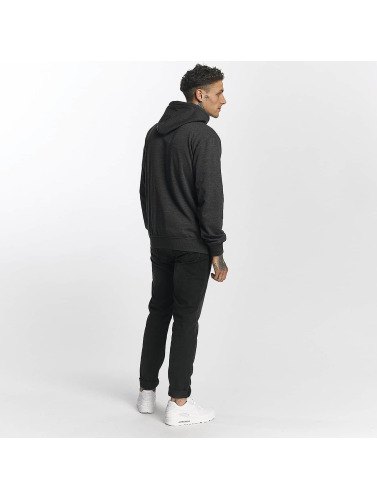 Lonsdale London Hombres Sudadera Gravesend in gris