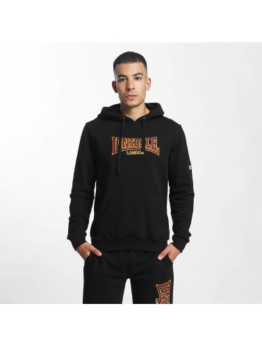 Lonsdale London Hombres Sudadera Brackley in negro