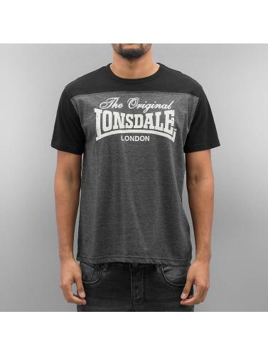Lonsdale London Herren T-Shirt Leadhills in grau