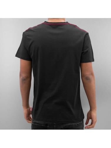 Lonsdale London Herren T-Shirt Denholm in schwarz