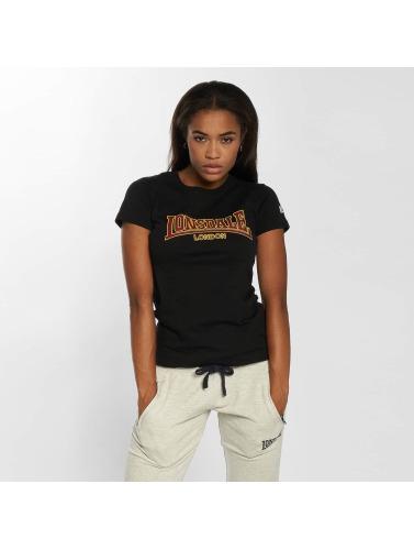 Lonsdale London Damen T-Shirt Helmsley in schwarz