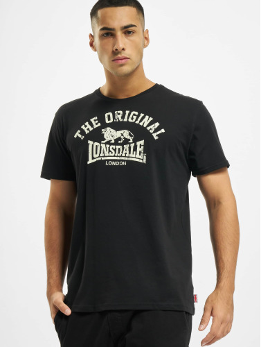 Lonsdale London Herren T-Shirt Original in schwarz