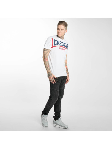 Lonsdale London Herren T-Shirt Creaton in weiß