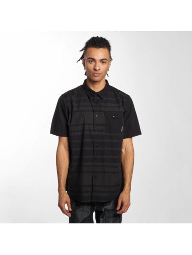 LRG Hombres Camisa Ontour Woven in negro