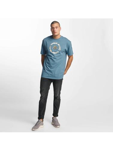 LRG Hombres Camiseta v in azul