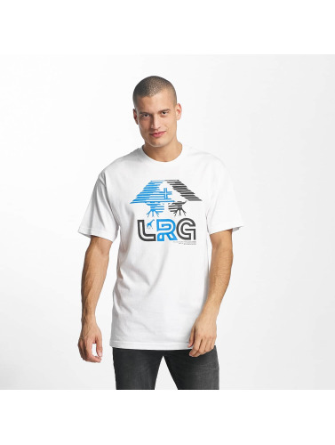LRG Hombres Camiseta Tree G in blanco