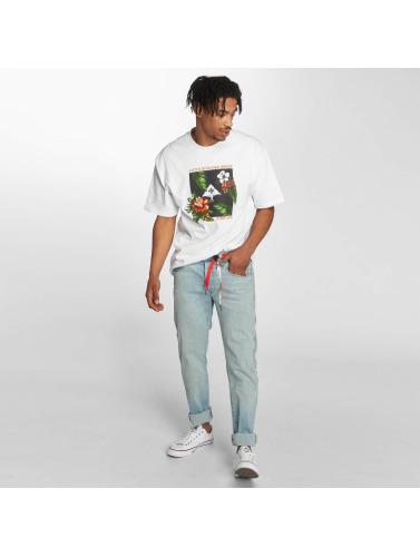 LRG Hombres Camiseta Tropics in blanco