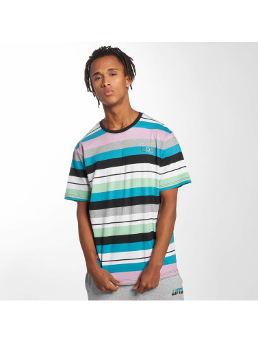 LRG Hombres Camiseta Brilliant Youth Stripe Knit in colorido