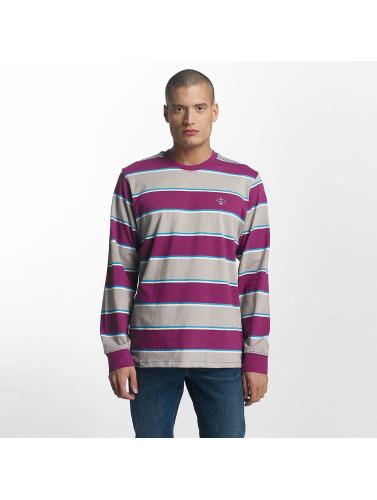LRG Hombres Camiseta de manga larga Research Collection in púrpura
