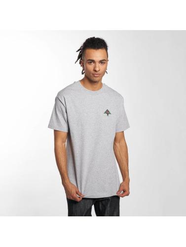 LRG Hombres Camiseta Line Tree in gris