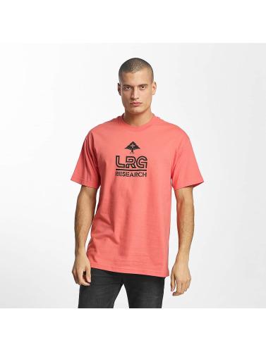 LRG Hombres Camiseta Research in naranja