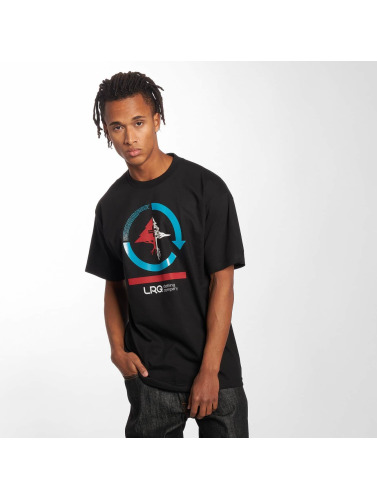 LRG Hombres Camiseta Cycle Mission in negro