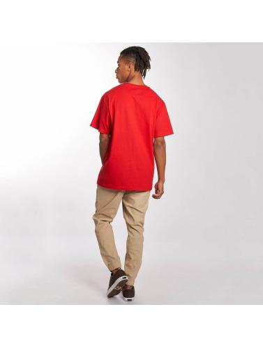 LRG Hombres Camiseta Lifted Tree in rojo