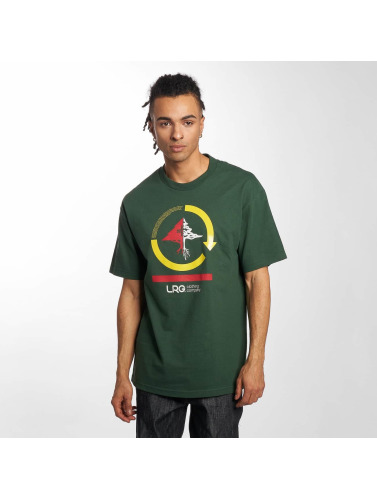 LRG Hombres Camiseta Cycle Mission in verde