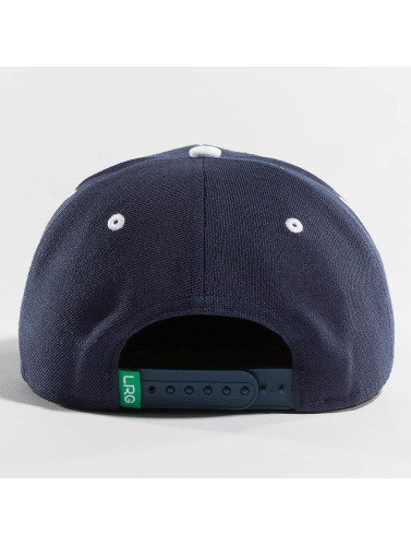 LRG Snapback Cap Research Group in blau