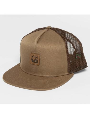 LRG Herren Snapback Cap Icons in braun