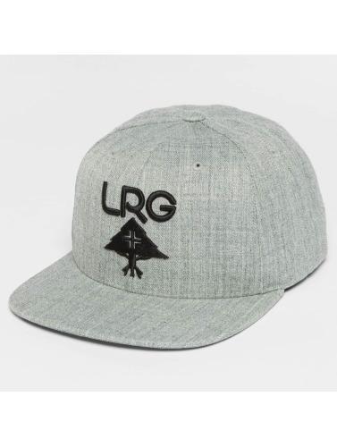LRG Herren Snapback Cap Research Group in grau