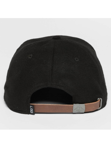 LRG Snapback Cap Home Team in schwarz