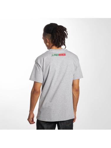 LRG Herren T-Shirt Line Tree in grau