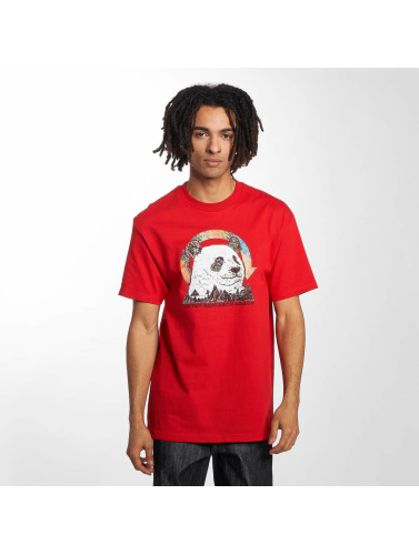 LRG Herren T-Shirt Panda Friend in rot