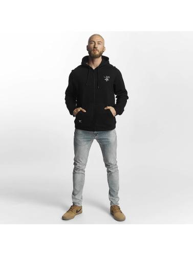 LRG Herren Zip Hoodie Logo Mac in schwarz