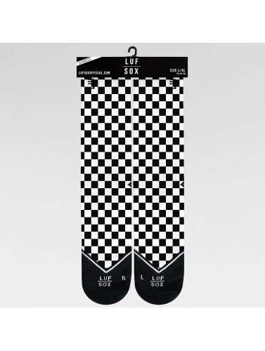 LUF SOX Calcetines Classics Chessboard in negro